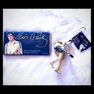 Nwt Elvis candy bar and ornament